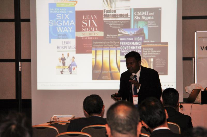 Master Class Session on Applied Lean Six Sigma at ICQ 2014, Organised by Japanes